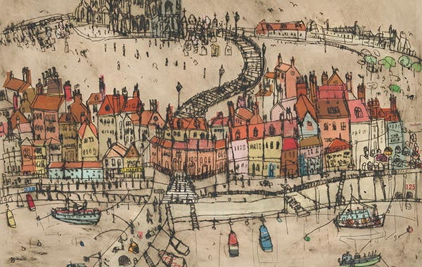 Clare Caulfield, Whitby Harbour
