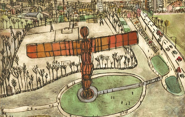Clare Caulfield Angel of the north