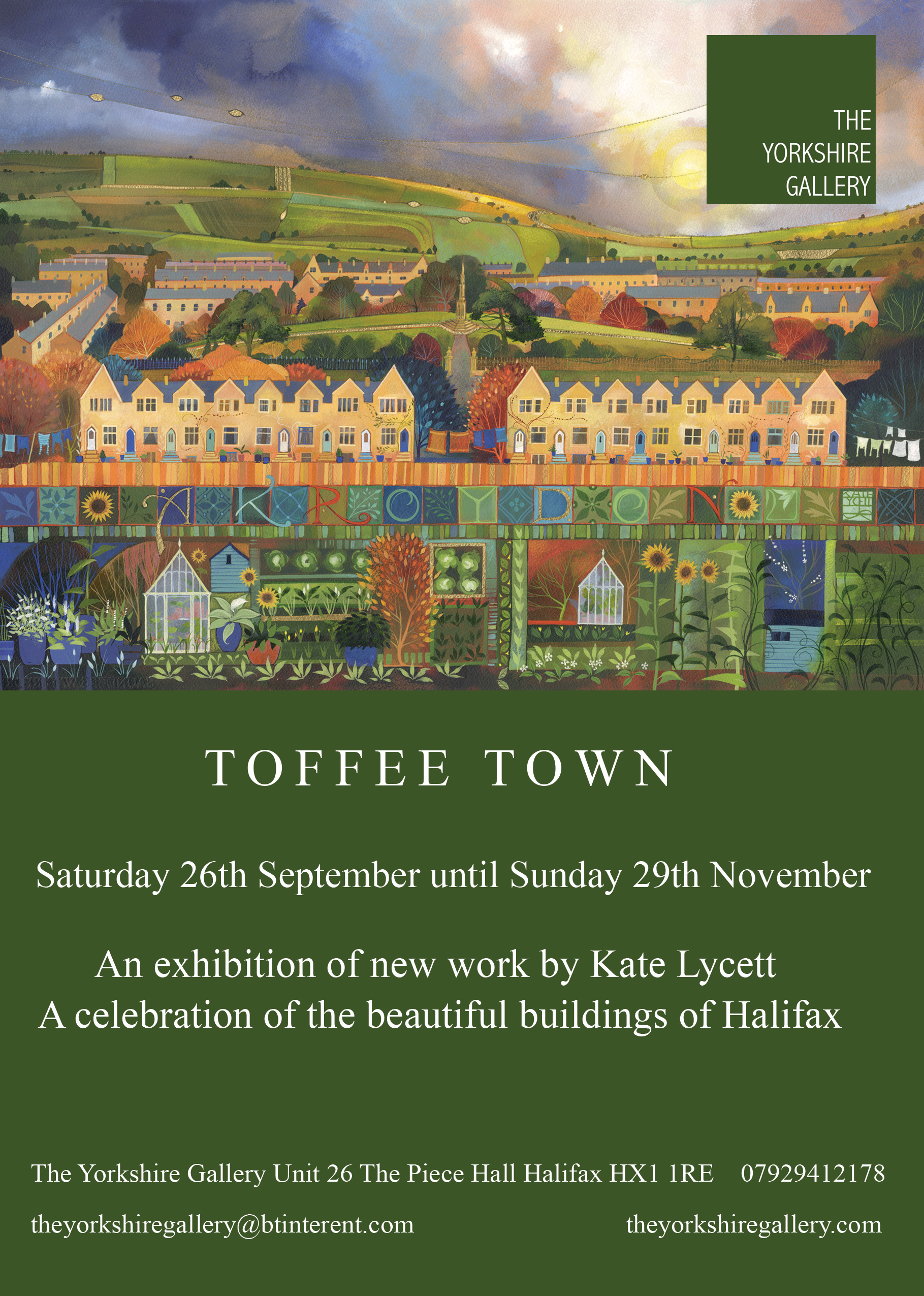 TOFFEE TOWN EXHIBITION 2020